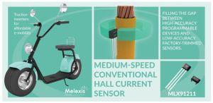 Capteurs de courant optimisés pour mobilité électrique | Melexis