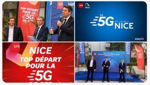 SFR lance la 5G à Nice, première ville française ouverte en 5G