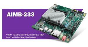 Carte mère industrielle au format Mini-ITX « THIN »   Advantech