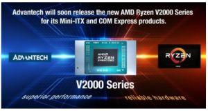 Cartes Mini-ITX et COM Express avec AMD Ryzen V2000 | Advantech