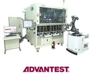 STMicroelectronics et Advantest collaborent au développement d'une cellule de test automatisée