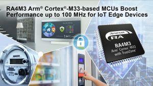 Microcontrôleurs Arm Cortex pour applications industrielles et IoT | Renesas