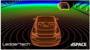 dSPACE et LeddarTech s'allient pour avancer le développement des technologies lidar dans l'automobile