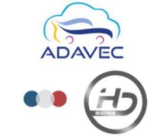 Véhicule autonome : collaboration entre les projets de recherche ADAVEC et HD-Global