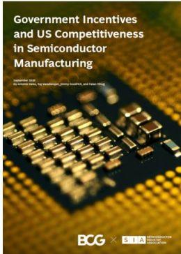 Les Etats-Unis adoptent une législation pour financer l'industrie des semiconducteurs