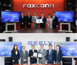 Foxconn crée une coentreprise avec le constructeur automobile chinois Geely
