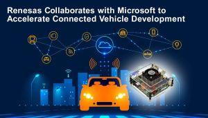 Renesas collabore avec Microsoft pour accélérer le développement des véhicules connectés