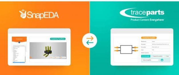 TraceParts et SnapEDA s'associent pour faciliter la conception