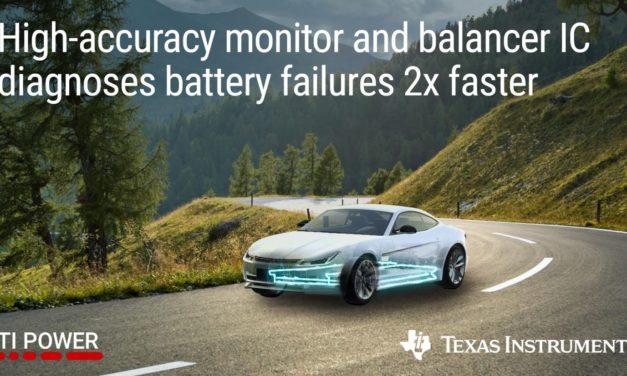 Contrôleur-équilibreur de batterie pour l'automobile   Texas Instruments