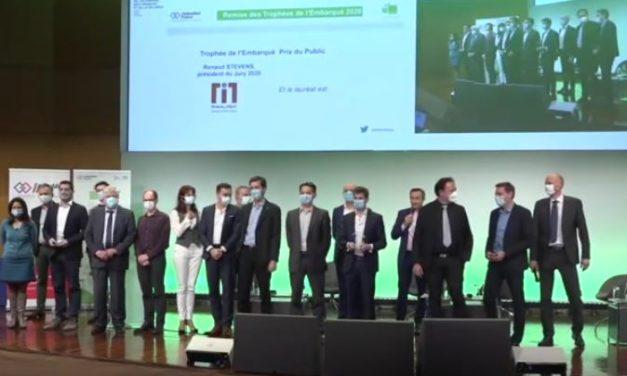 Hionos, Renault Software Labs, IoTerop, Yumain, Unseenlabs et des étudiants de CY-Tech – EISTI remportent les 13e trophées de l'embarqué