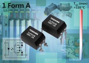 Photo-relais à courant élevé, optimisé pour usage industriel | Toshiba