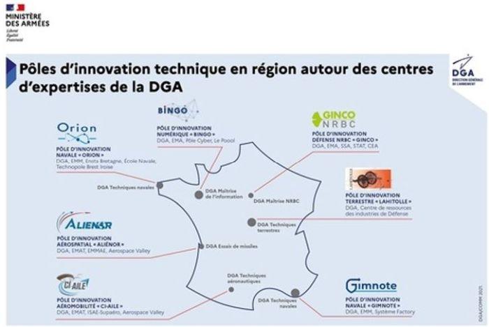 La DGA lance le pôle d'innovation technique Bingo en Bretagne