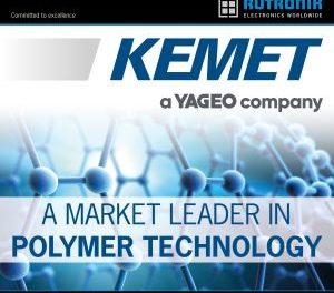 Rutronik signe un accord de distribution mondial avec Kemet