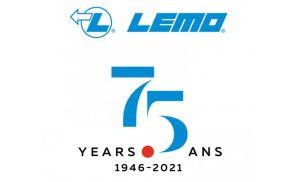 LEMO fête son 75e anniversaire en 2021
