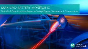 Circuit intégré de surveillance de batterie | Maxim
