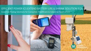 Trois circuits de puissance pour dispositifs fonctionnant sur batterie | Maxim