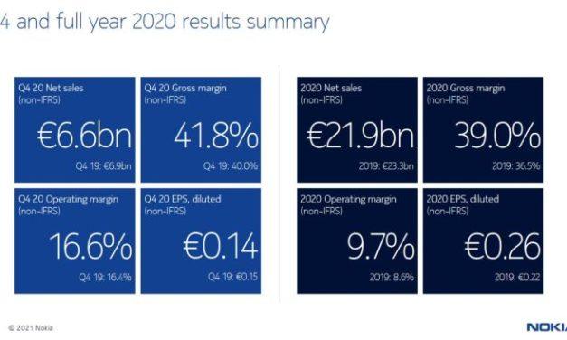 Nokia va supprimer 5000 à 10 000 emplois
