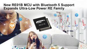 Microcontrôleur avec connectivité Bluetooth 5.0 pour IoT | Renesas