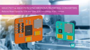 Convertisseurs inverseurs continu-continu synchrones | Maxim