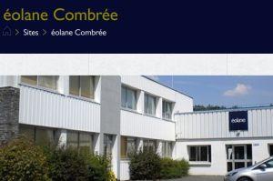 Le projet de modernisation d'Eolane à Combrée lauréat du Plan France Relance