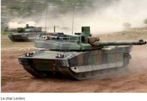 Plus de 1 milliard d'euros pour le renouvellement du marché de soutien du char Leclerc