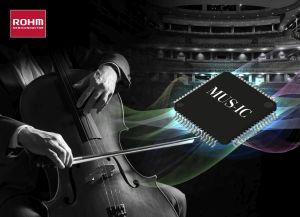 Convertisseur N/A 32 bits pour équipement audio haute-fidélité | Rohm
