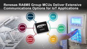 Microcontrôleur avec options de communication étendues pour l'IoT | Renesas