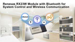 Module Bluetooth Bluetooth 5.0 Low Energy pour dispositifs IoT | Renesas