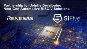 Renesas s'allie avec SiFive pour des microcontrôleurs avec cœur RISC-V
