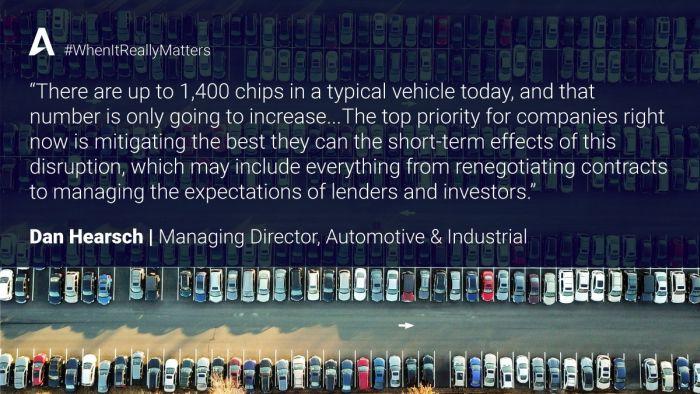 La pénurie de puces empêcherait la production de 3,9 millions de véhicules en 2021