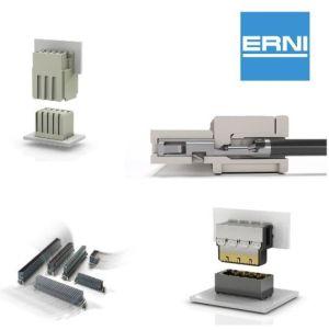 Digi-Key distribue les connecteurs d'Erni Electronics