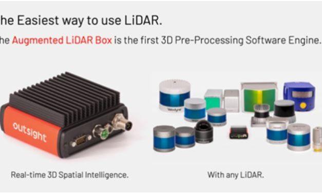 Outsight facilite le traitement des données du Lidar indépendamment du fournisseur