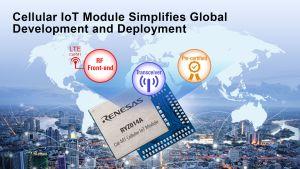 Module LTE CAT-M1 basé sur la technologie Monarch de Sequans | Renesas