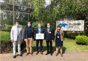Teledyne e2v Semiconductors modernise sa salle blanche d'assemblage et de test à Grenoble