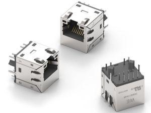 Connecteurs LAN pour applications industrielles 10 gigabits | Würth Elektronik