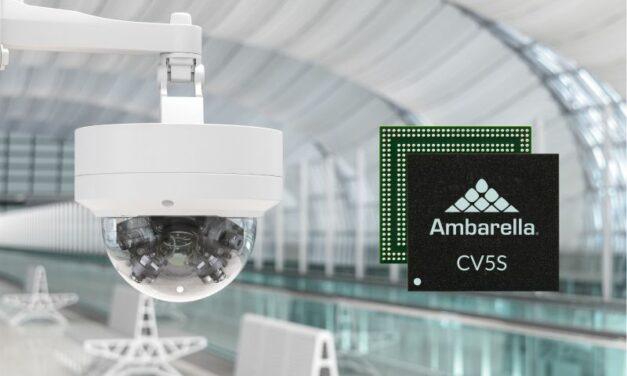 Vidéosurveillance: encodage 4K et traitement IA sur une seule puce faible consommation