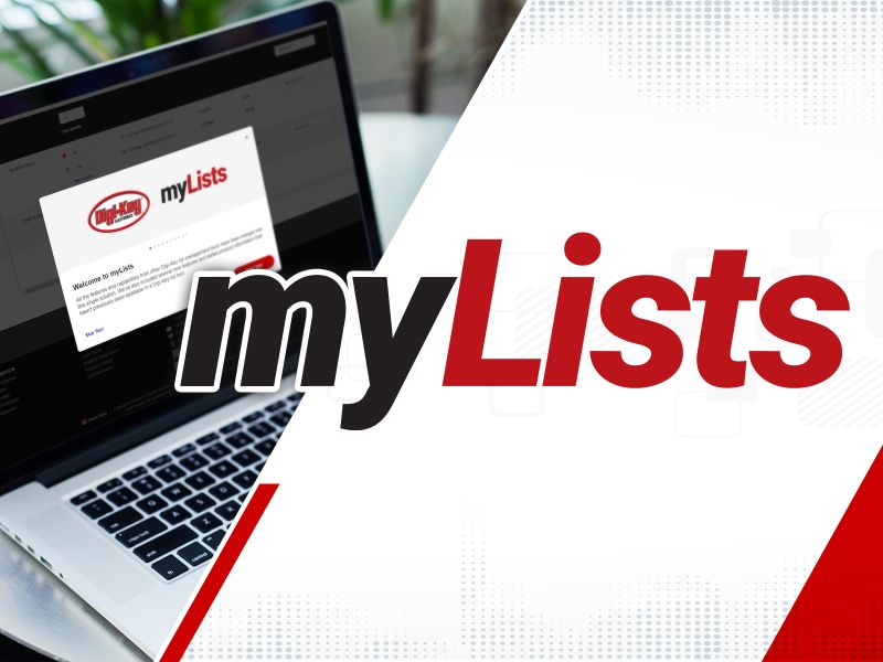 Digi-Key lance un outil de gestion de listes consolidé