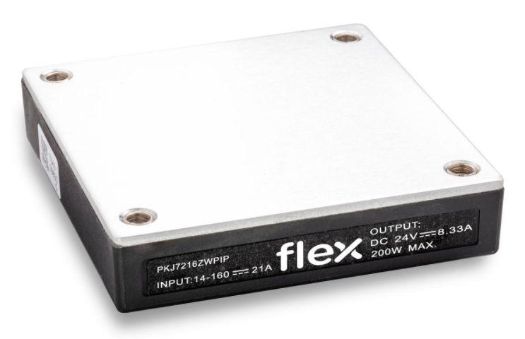 Ferroviaire: le convertisseur DC/DC 200 W de Flex Power Modules s'universalise
