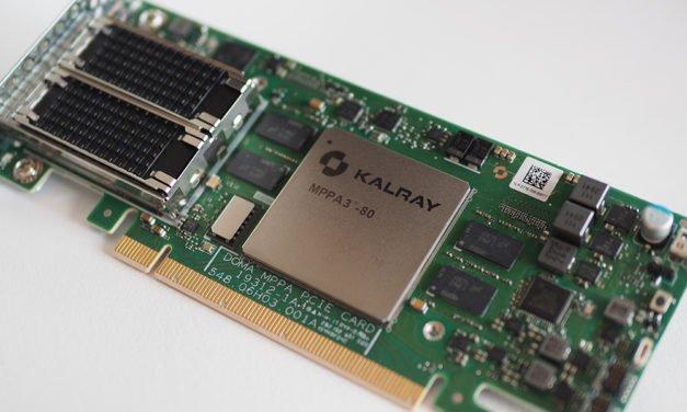 Kalray lance sa première carte d'accélération pour applications de volume