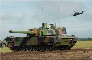 Le char Leclerc bientôt connecté par Nexter