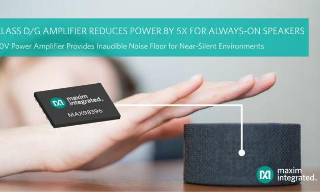Niveau de bruit et consommation en nette baisse pour les amplificateurs audio de Maxim