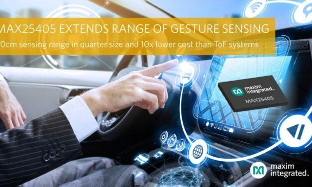 Automobile: Maxim améliore la reconnaissance gestuelle à moindre coût