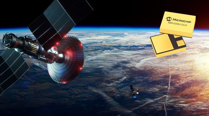 Microchip entre sur le marché des Mosfet durcis pour le spatial