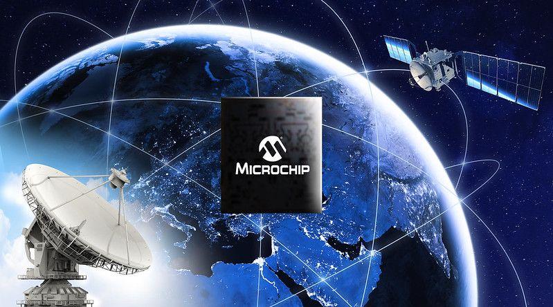 Communications par satellite: un amplificateur HF en GaN de Microchip délivre 10 W dans la bande Ka