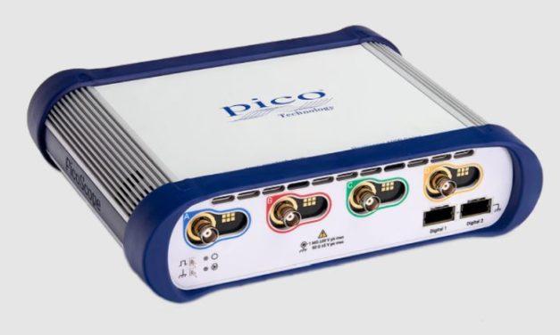 Pico Technology booste ses oscilloscopes à signaux mixtes au format USB