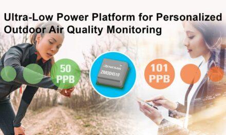 Les capteurs d'ozone gagnent les appareils portables