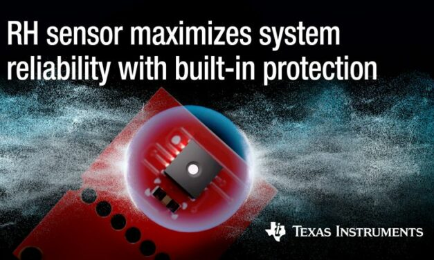 Les capteurs d'humidité de TI compensent précisément la dérive de mesure du taux d'humidité
