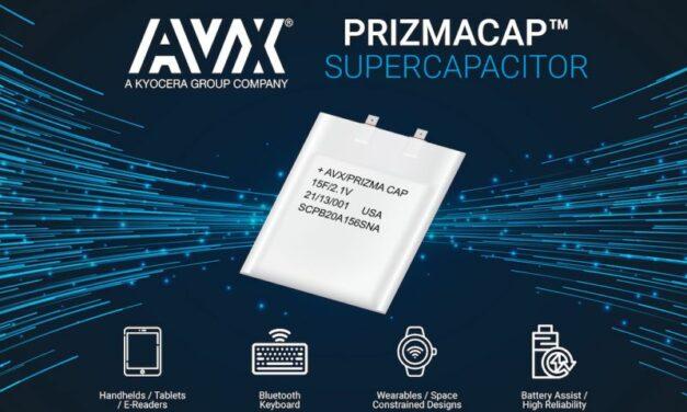 AVX commercialise des super supercondensateurs!