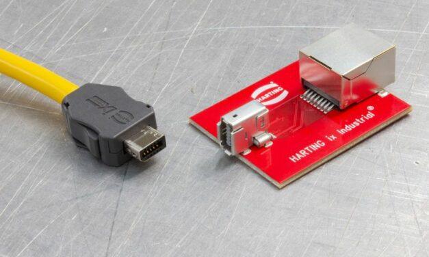 La connectique ix Industrial de Harting devient la nouvelle norme pour l'Ethernet industriel