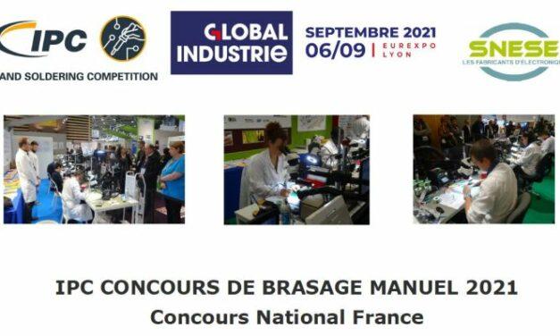 L'IPC organisera son concours national de brasage manuel à Global Industrie